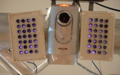 Camera and Infrared Emitters